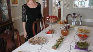Betty's Thanksgivingtable -- 2011 -- Happy Thanksgiving!