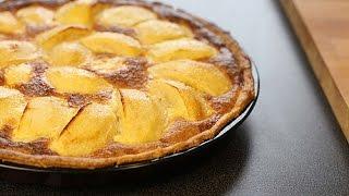 Recette De Tarte Aux Pommes Alsacienne / Apple Tart Recipe / تارت التفاح
