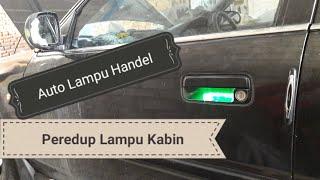 Fitur keren, Dimmer Lampu Kabin dan lampu handel pintu otomatis