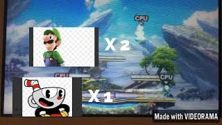 Smash bros 3ds the Mario Bros vs the cup Bros reupload