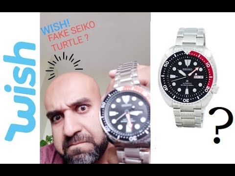 Wish Sold Me A Fake Seiko Turtle?