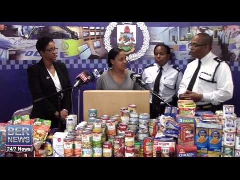 Police Donate Hampers To Local Charities, December 18 2014