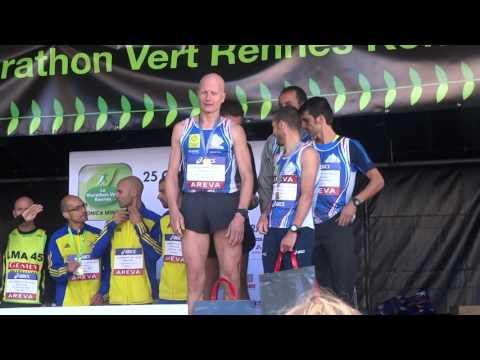 CHAMPIONNAT DE FRANCE MARATHON 2015 LE LMA 45 REPART AVEC 3 MEDAILLES