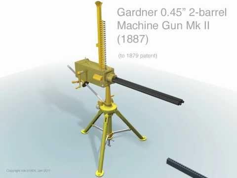Gardner 2 barrel Machine Gun (1879)