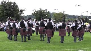 Police Service of Northern Ireland Pipe Band Newtonards 2013