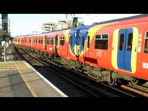 Trains at: Guildford, 15/01/16