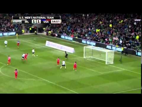 Ireland Republic 4 – 1 USA - Friendly - 18.11.2014