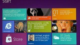 видео Исправление ошибки магазина, после обновления до Windows 8
