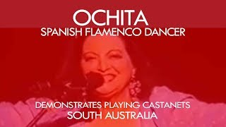 Spanish flamenco dancer ''Ochita'' - Maestro in castanets thumbnail