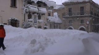 Raw: Cold, Major Snowfall Grip Italy and Turkey