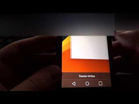 Magyar Telekom TV GO applikáció bemutatása LG LEON H340N 4G/LTE okostelefonon