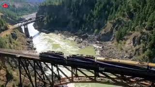 Experience the heart of the Canadian Rockies on an amazing Rail Journey.