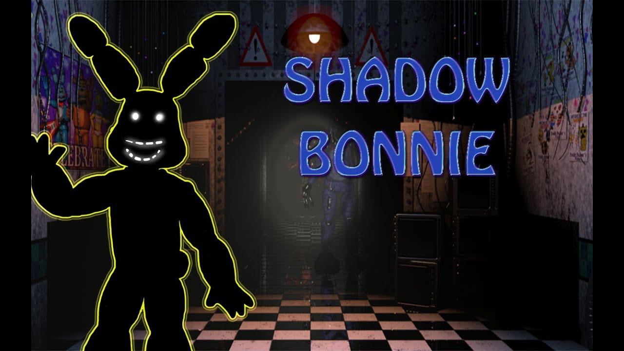 Shadow Bonnie Fnaf Teorie Youtube