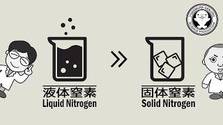 -196度の液体窒素を固体にすることができるのか!?【実験】 / 米村でんじろう[公式]/science experiments