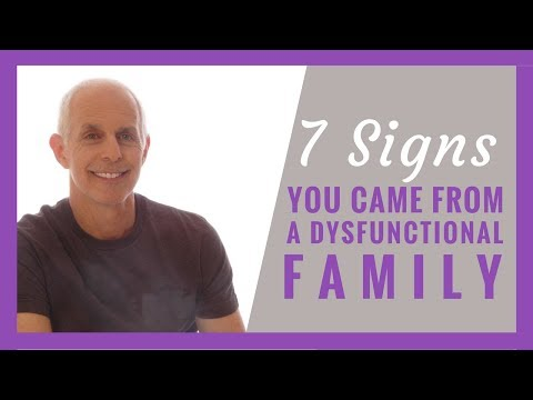 7 Signs You Came from a Dysfunctional Family