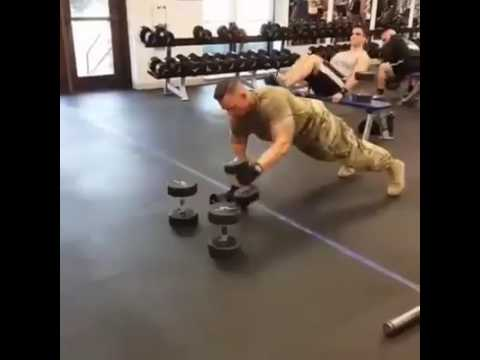 Super soldier power workout