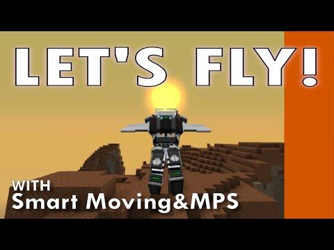 Minecraft Techmods: Let's Fly! (Smart Moving)