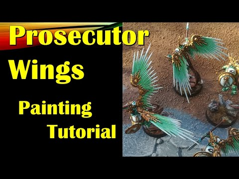 Painting Prosecutor Wings
