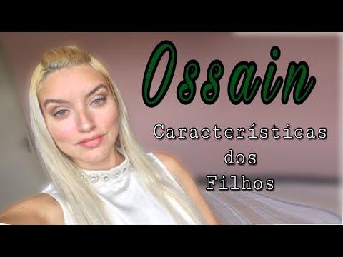 Características dos filhos de Ossain