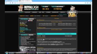 Royalcash.fr - Obtenir le statut VIP sans dépenser un centime!