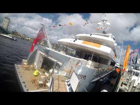 Ft. Lauderdale International Boat Show 2017 Walk Through
