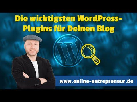 Die besten WordPress Plugins deutsch
