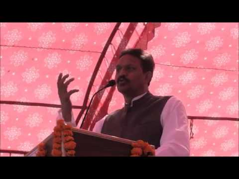 Afzal Ansari speaks at BSP Malihabad Rally