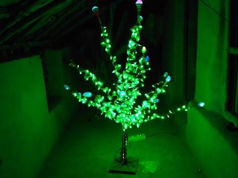 How to make LED tree at home (hindi)