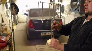 видео Автомобильная ТВ антенна своими руками