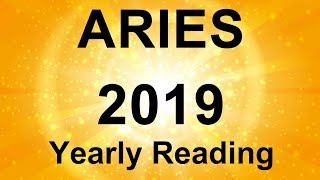 ARIES YEARLY READING ⭐️  2019  ⭐️ TIME TO SHINE!