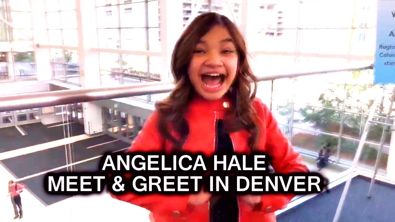 Angelica hale meet and greet with fans in denver may 30 2018 youtube angelica hale meet and greet with fans in denver may 30 2018 m4hsunfo