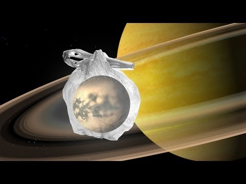 Daily Orbit - Plastic in Titan