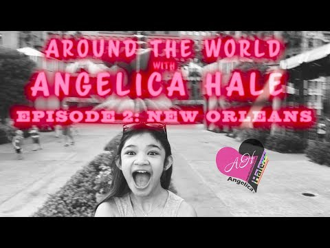 AROUND THE WORLD with Angelica Hale - Episode 2 New Orleans | Travel Vlog