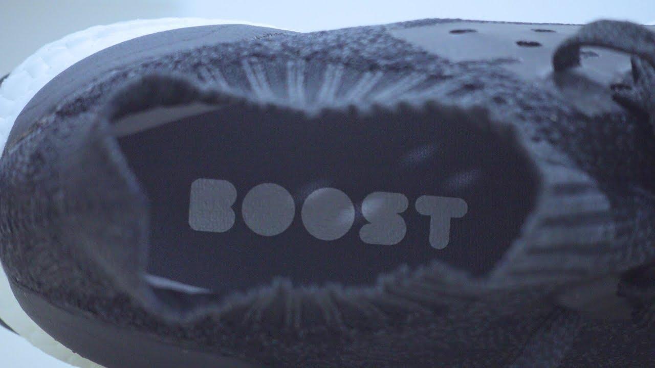 3bcc9c9f4 Adidas UltraBOOST Uncaged Core Black (DA 9164) Close Up - YouTube