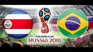 FINAŁ - TURNIEJ PANINI FIFA WORLD CUP RUSSIA 2018 KOSTARYKA - BRAZYLIA