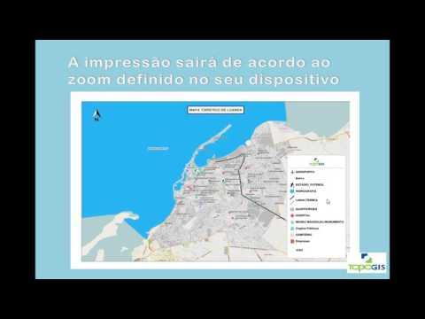 Mapa web de Luanda apresentação