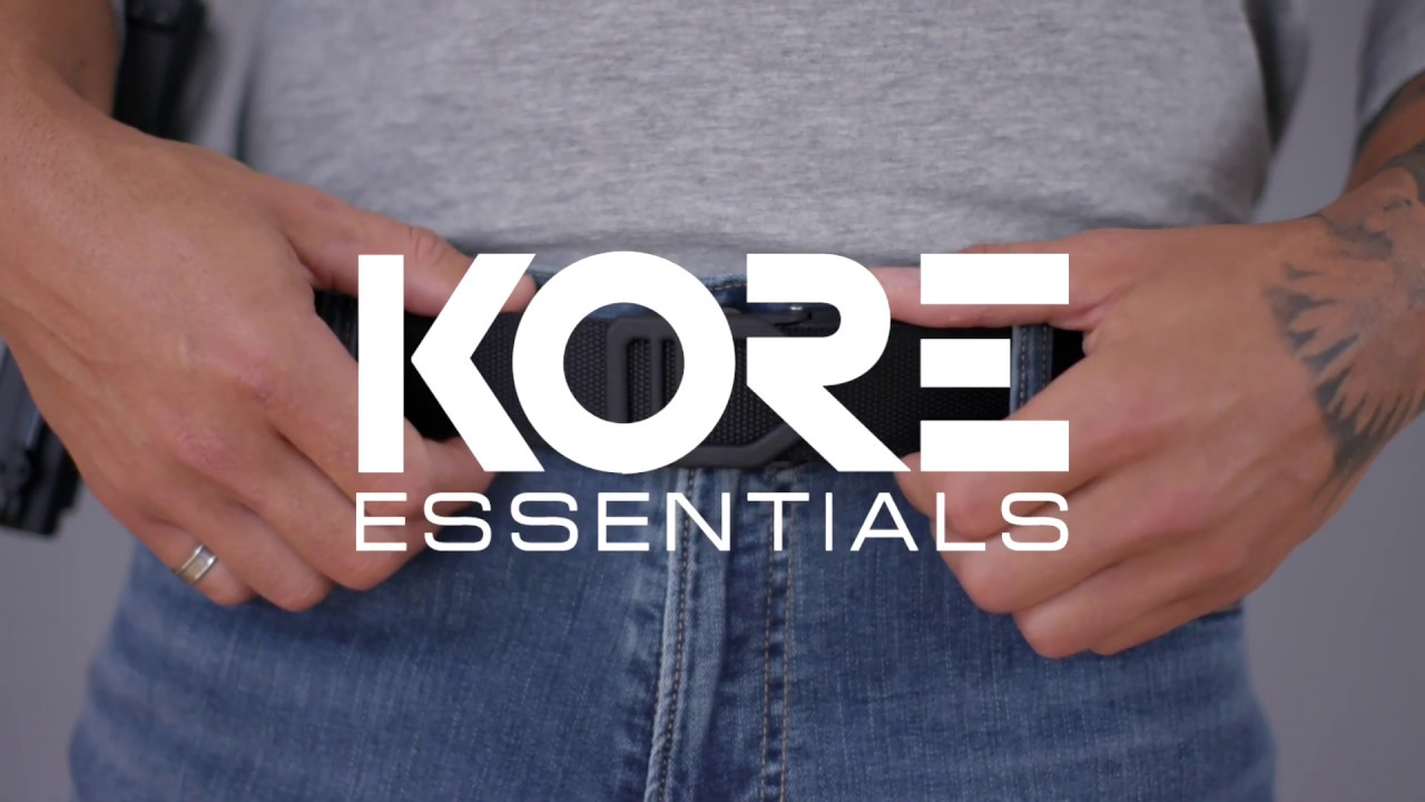 Kore Leather Garrison Belts G1 Buckle Black Leather 1 75 Belt Kore Essentials Track sewn into the back of the belt creates 40+ size points to adjust in ¼ increments for a perfect fit. g1 buckle black leather garrison belt 1 75