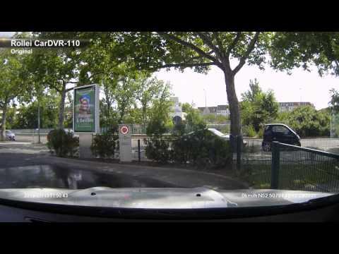 Rollei CarDVR-110 GPS Dashcam - Unboxing, Bilder, Testaufnahmen in Berlin, GPS-Software