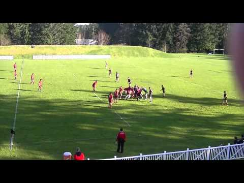 Rugby Canada U17 East vs West Trial Game 1 - March 2, 2015
