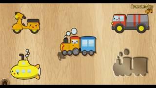 Мультики Веселые пазлы Пазлы животные Мультфильмы для детей