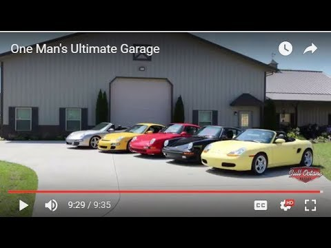 One Man S Ultimate Garage Youtube