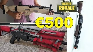 €500 real life Fortnite Toys bought