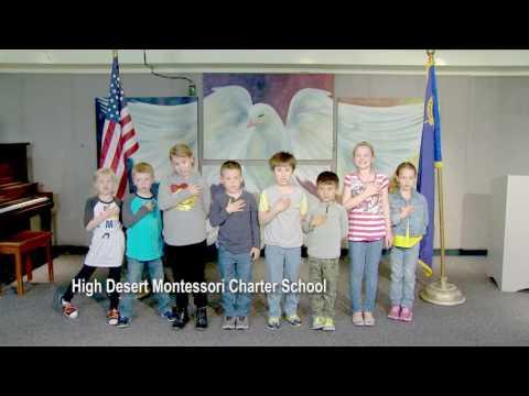 One Nevada Morning Pledge - High Desert Montessori Charter School Group 1