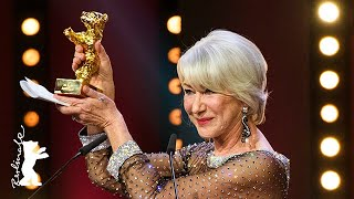 Helen Mirren thinks her Oscar might fall in love... | Berlinale 2020