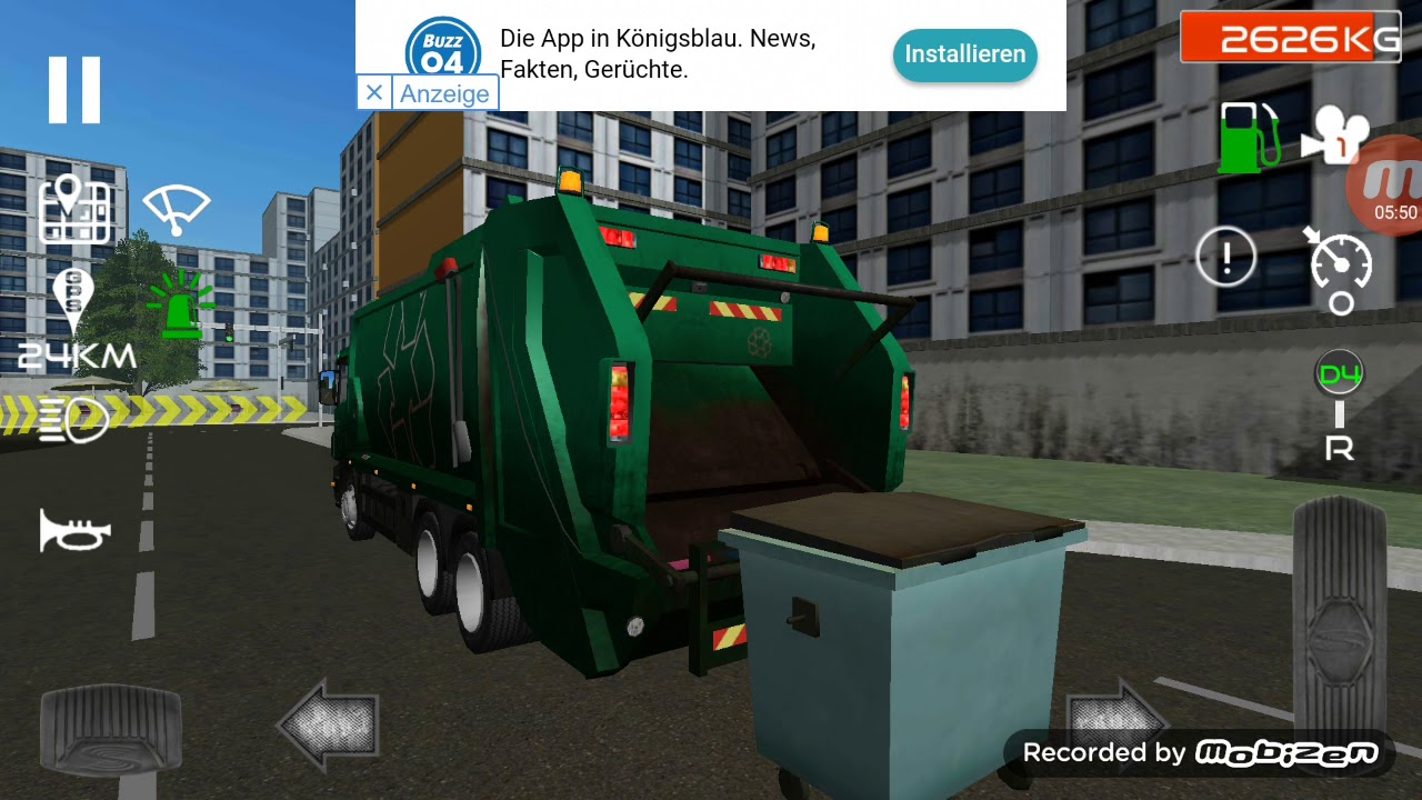Müllwagen Simulator