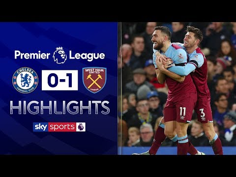 Aaron Cresswell sinks Chelsea 💥 | Chelsea 0-1 West Ham | Premier League Highlights