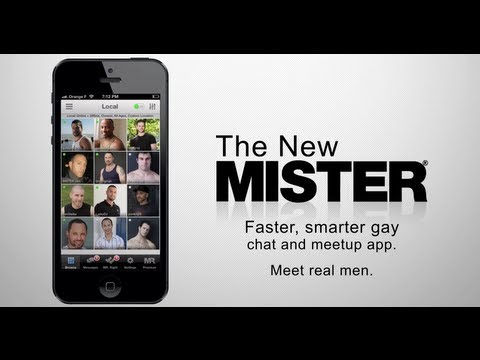 Mister gay dating app