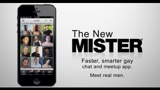 The MR. X app: A faster, smarter gay dating app