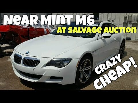 Flipping a CHEAP Salvage BMW M6 for Over $8,000 PROFIT!