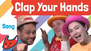 Clap Your Hands With Me | Kids songs | Magicio & Friends | Made by Red Cat Reading